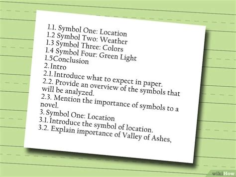 cara membuat outline dalam writing 4 cara untuk menulis sebuah kerangka esai wikihow