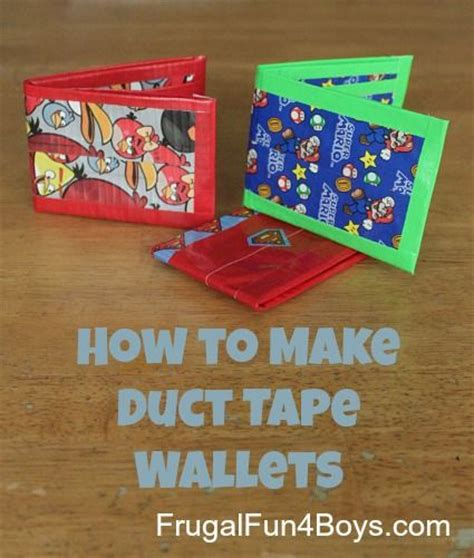 how to make a duct card holder 17 best images about webelos scouts on