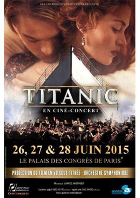 film titanic video francais cin 233 concert titanic le titanic en 1912