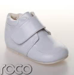 infant white shoes baby boys white velcro wedding formal pageboy bootie
