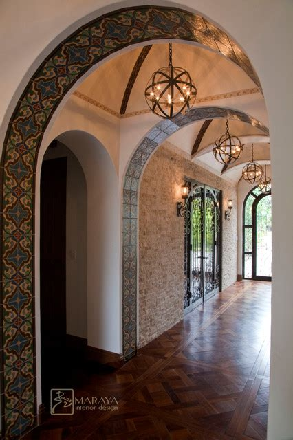 home interior arches design pictures arched and groin vault entry hall mediterranean hall