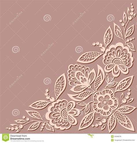 beautiful pattern beautiful floral pattern a design element in the royalty free stock photos image 34596278