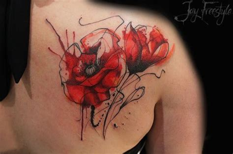 poppy flower tattoo meaning 60 beautiful poppy tattoos ink must