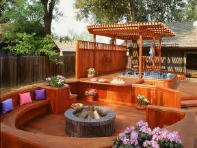 7 sizzling tub designs outdoor design landscaping