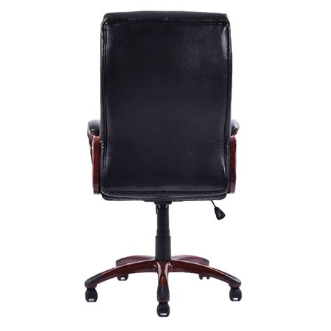Best Ergonomic Executive Office Chair by Black Best Ergonomic Pu Leather High Back Executive Desk