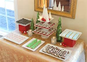 How To Christmas Dessert Buffet » Ideas Home Design