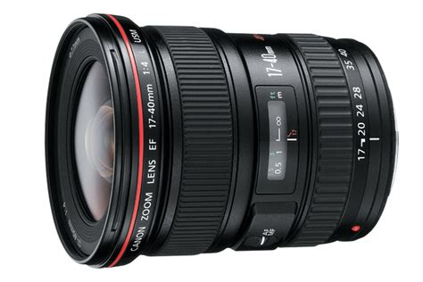 Lensa Canon 17 40 L Series ef 17 40mm f 4l usm