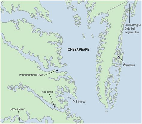 chesapeake bay map memes