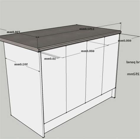 standard kitchen island dimensions standard kitchen island size archives gl kitchen design