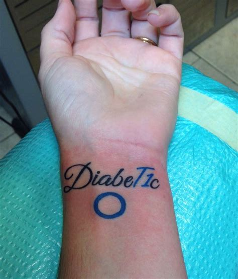 type 1 diabetes tattoo type 1 diabetic circles