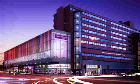 Mancherster Mba by Alliance Manchester Business School Awarded 163 9 7 Million