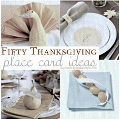 1000 ideas about place card holders on pinterest favors 1000 images about thanksgiving on pinterest