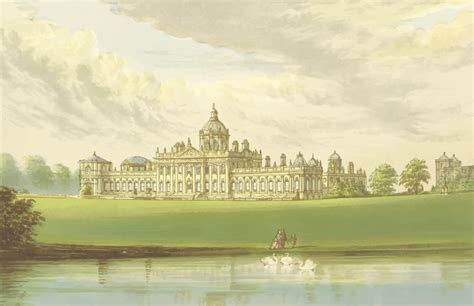 House Architecture Drawing Clipart Castle Howard