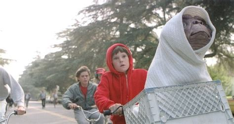 E T Bike Ride quot e t bike ride quot voted universal pictures best top 100 moment