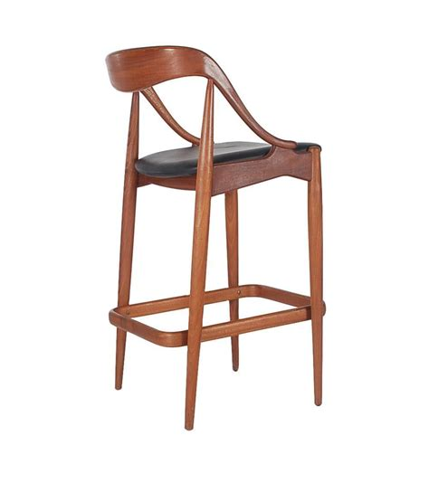 teak bar stools danish teak bar stools by johannes andersen for morredi at