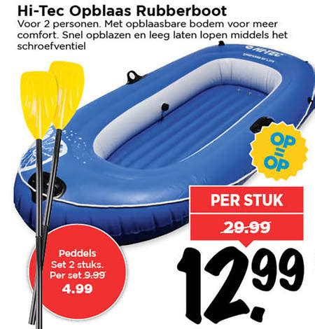 intertoys rubberboot opblaasboot folder aanbieding bij vomar details