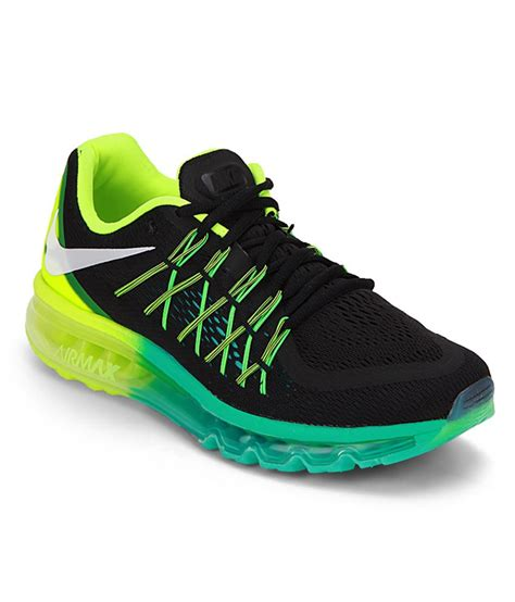 nike air max 2015 black sport shoes buy nike air max