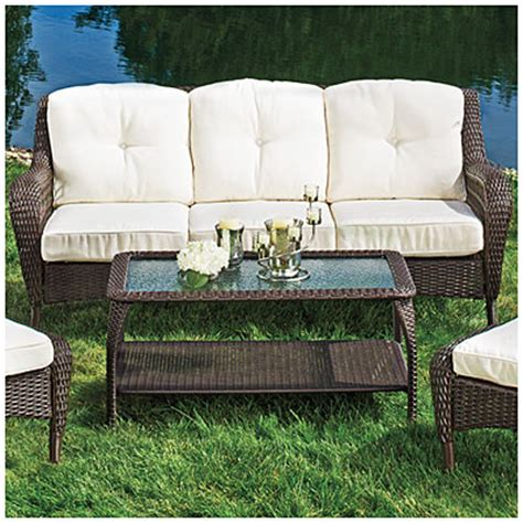 view wilson fisher 174 cayman sofa coffee table set deals