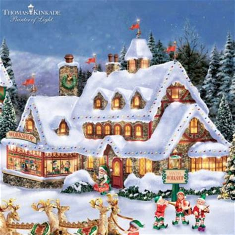 Shop Online Home Decor by Thomas Kinkade Handcrafted North Pole Village Collection