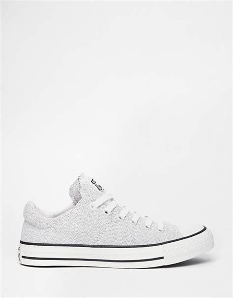 Light Grey Converse by Converse Converse Knit Light Grey Chuck All