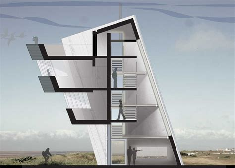 Observation Tower Plans by Precedence Studies Rossall Point Observation Tower The