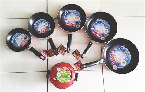 Teflon Maxim Berbagai Ukuran jual wajan dadaran telur maxim valentino harga murah