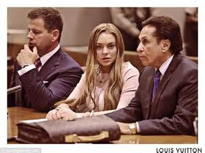 Lindsay Lohan Louis Vuitton Key Holder by Lindsay Lohan S Court Appearance Inspires Spoof