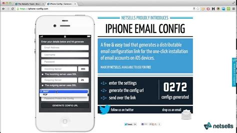 remote iphone ios email setup configure iphone email accounts remotely