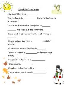 months of the year worksheets for mixed abilities by robyn
