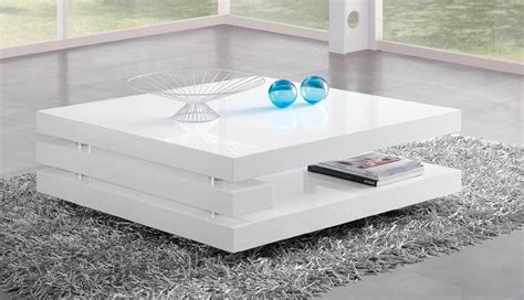 Table Basse Blanche 922 by Table Basse Blanche Innovation Table De Salon