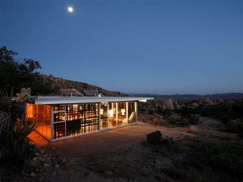 eco house design self sufficient house in california