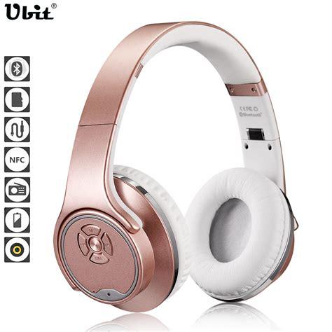 Ubit Mh2 Bluetooth Headphone Speaker Aliexpress Buy Ubit Mh1 Nfc 2in1 Twist Out Speaker Bluetooth Headphone With Fm Radio Aux