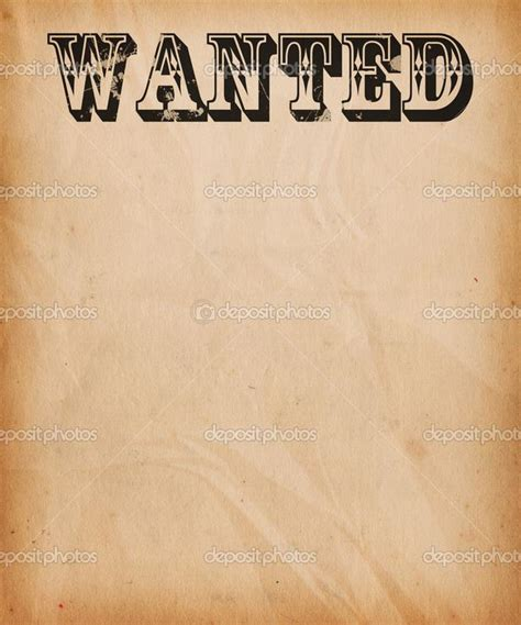 wanted poster template powerpoint wanted text poster background pic 10724