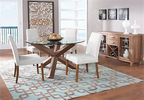 rooms to go dining sets city villa driftwood dining dining rooms
