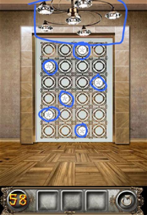 100 floors floor 58 walkthrough the floor escape level 58 walkthrough
