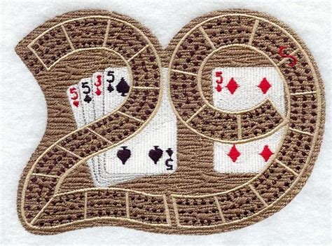 29 cribbage board template machine embroidery designs at embroidery library