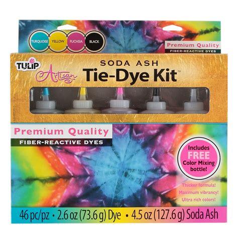 tulip 174 artisan soda ash tie dye kit 4 pack ilovetocreate