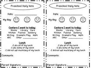 Daily report on pinterest infant daily report preschool and free