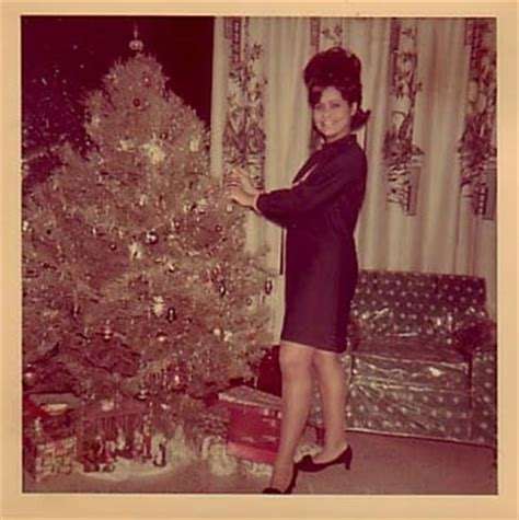 old christmas tree decorating 1950 s 1960 s images etc
