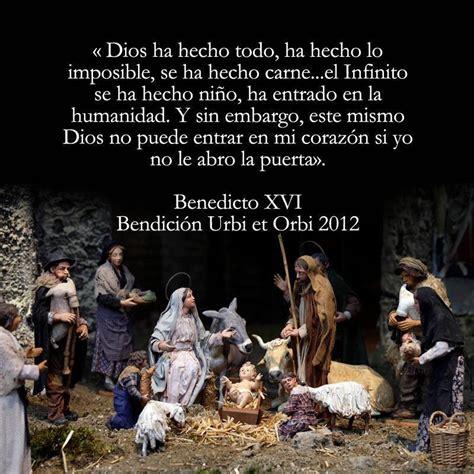 imagenes catolicas sobre la navidad 7 breves reflexiones del papa para seguir meditando sobre