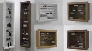 Fmd Glass Display Cabinet Bora Bora Floor Standing Glass Wood Display Cabinet Freedom