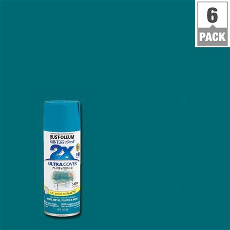 spray painter ratings rust oleum painter s touch 2x 12 oz lagoon satin general