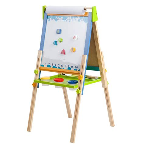 easels for kids amazon com ecr4kids 3 in 1 premium standing art easel