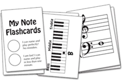 musical note flashcards for beginning piano students free free flash card download for beginners just 15 notes