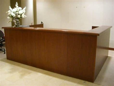 Reception Desk Used Used Reception Desk Conklin Office Furniture