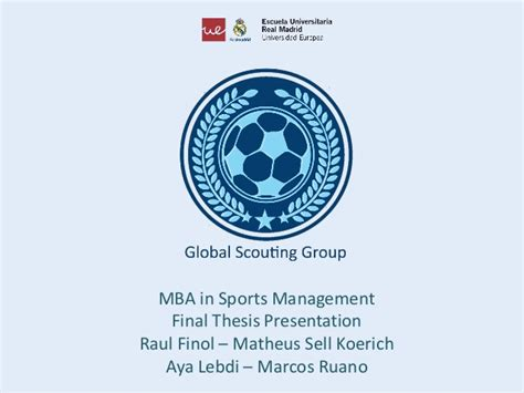 Lipscomb Mba Sports Management by Universidad Europea De Madrid Uem Escuela Real Madrid