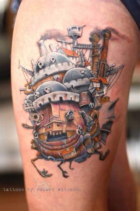 hayao miyazaki tattoo check out these amazing ghibli inspired tattoos soranews24