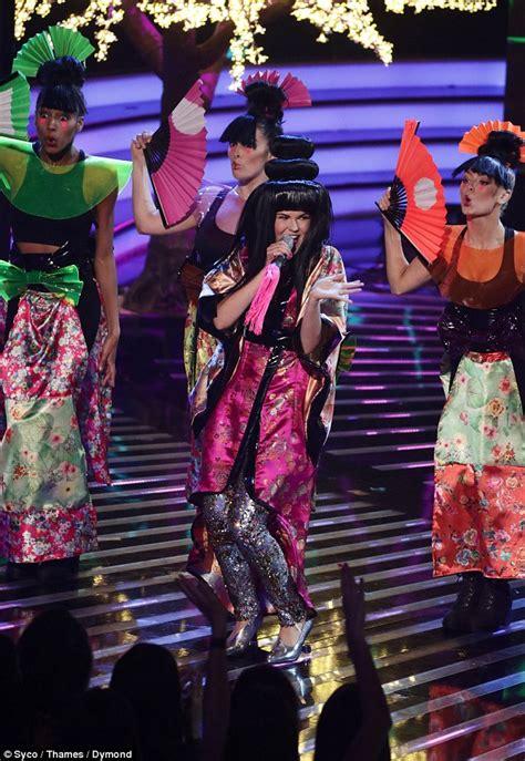 geisha tattoo cultural appropriation x factor fans slam saara aalto s geisha performance for