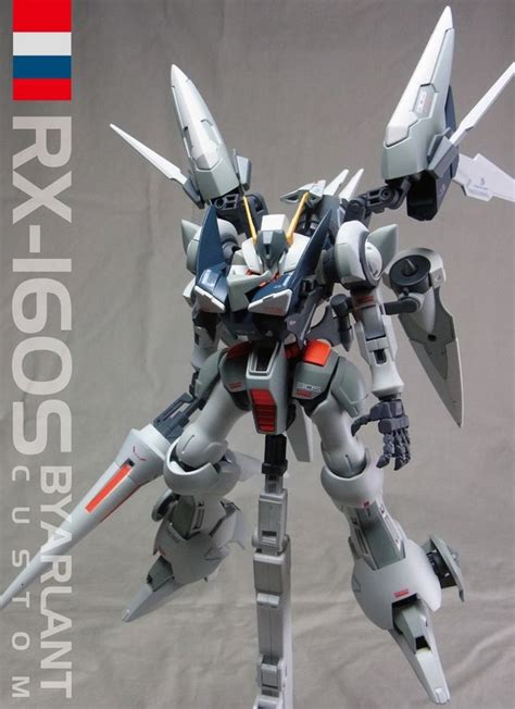 Hg Gundam Hguc Byarlant Custom custom build hguc 1 144 rx 160s byarlant custom gundam