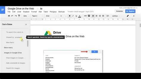 how to activate outline tool at google docs youtube